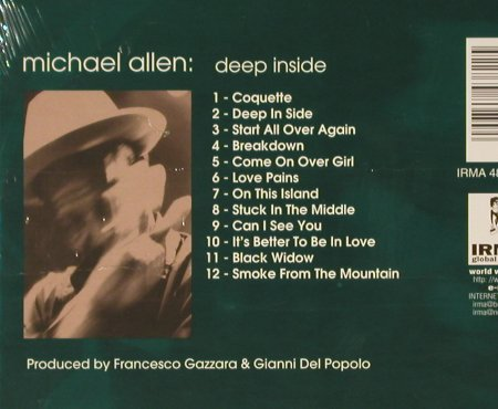Allen,Michael: Deep Inside, Digi, FS-New, Irma(484382-2), , 1996 - CD - 93061 - 10,00 Euro
