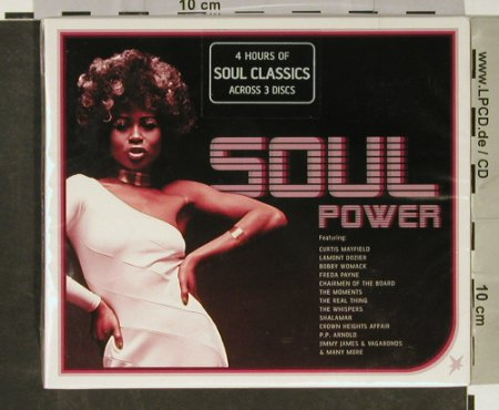V.A.Soul Power: 4 Hours of Soul Classics,FS-New, Sanctuary(), UK, BoxSet, 2003 - 3CD - 93131 - 12,50 Euro