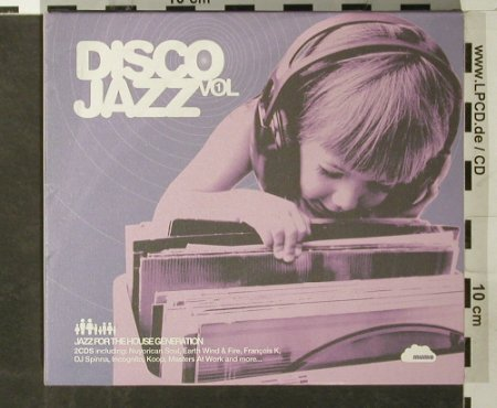 V.A.Disco Jazz: Vol.1, Digi, Mumo(cd03), EU, 2003 - 2CD - 93484 - 10,00 Euro