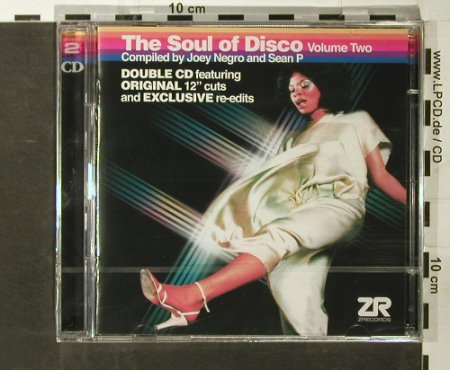 V.A.The Soul of Disco Vol. 2: Compiled by Joey Negro&SeanP, Z Rec.(), UK,FS-New, 2006 - 2CD - 93608 - 11,50 Euro