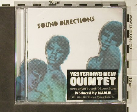 Sound Directions: The Funky...Yesterdays New Quintet, Stones Throw Record(), ,FS-New, 2005 - CD - 93748 - 12,50 Euro