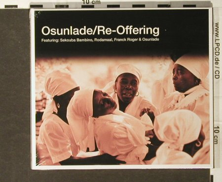 Osunlade: Re-Offering, Digi, FS-New, R2(), , 2005 - CD - 93814 - 10,00 Euro