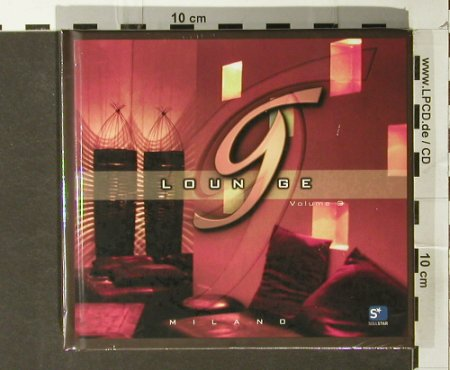 V.A.G Lounge: Milano, Vol.3 , Digi, FS-New, Soulstar(), , 2006 - 2CD - 93848 - 10,00 Euro