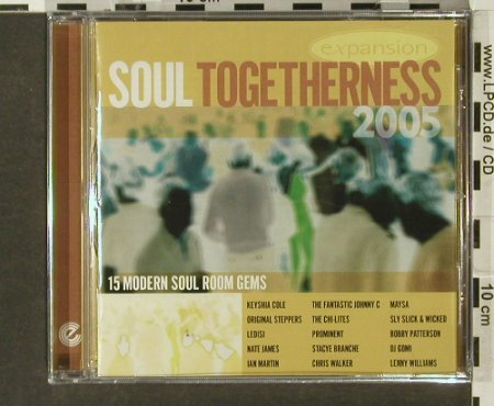 V.A.Soul Togetherness 2005: 15 Modern Soul Room Gems, FS-New, Expansion Record(), UK, 2005 - CD - 94108 - 11,50 Euro