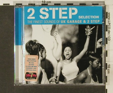 V.A.2 Step Selection: 18Tr. finest S.of UkGarage+2Step, Edel(), D, 2000 - CD - 94199 - 7,50 Euro