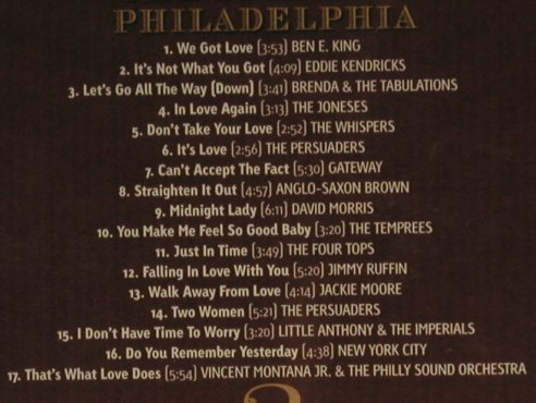 V.A.The Spirit of Philadelphia: 2 - Ben E.King...Vincent Montana..., Expansion Record(), , FS-New, 2006 - CD - 94361 - 11,50 Euro