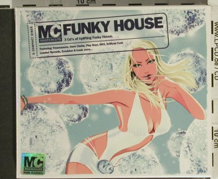 V.A.Mastercuts Funky House: Uplifting Funky House, FS-New, Apache(MCUTcd13), UK,FS-New, 2006 - 3CD - 94373 - 11,50 Euro