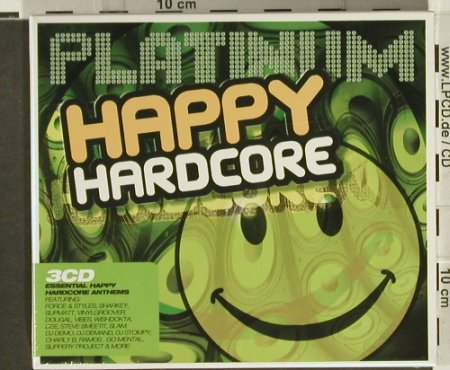 V.A.Platinum: Happy Hardcore, FS-New, Apace(), UK, 2006 - 3CD - 94381 - 10,00 Euro