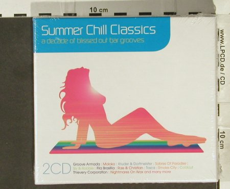 V.A.Summer Chill Classics: Groove Armada...Roy Ayers, FS-New, Parklane(), EU, Box, 2006 - 2CD - 94445 - 11,50 Euro