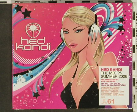 V.A.Hed Kandi-The Mix Summer 2006: 50 Tr., Digi, FS-New, Hed Kandi(HEDK061), EU, 2006 - 3CD - 94518 - 10,00 Euro