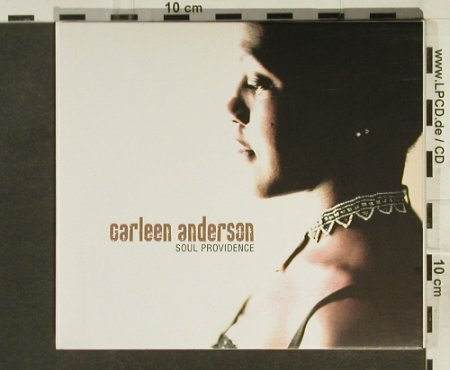 Anderson,Carleen: Soul Providence, Digi, Orange(), UK, 2005 - CD - 94529 - 11,50 Euro