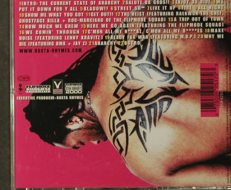 Busta Rhymes: Anarchy, Elektra(), D, 2000 - CD - 95123 - 10,00 Euro