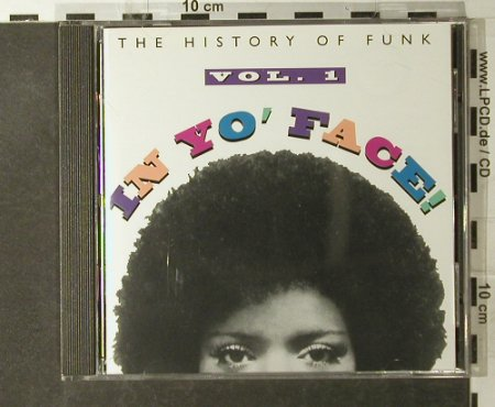 V.A.In Yo'Face Vol.1: The History Of Funk, 15 Tr., Rhino(R2 71431), US, 1993 - CD - 95131 - 12,50 Euro
