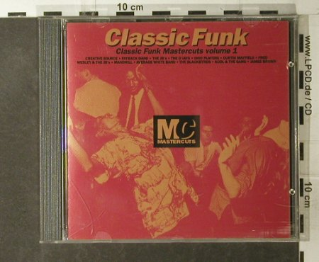 V.A.Classic Funk Mastercuts: Volume 1, 12 Tr., Beechwood Music Ltd.(CUTScd  6), UK, 1992 - CD - 95142 - 10,00 Euro