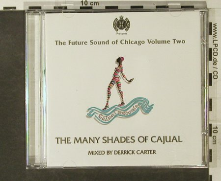 V.A.The Many Shades Of Cajual: 21 Tr., Ministry Of Sound(SOMCD5), UK, 1996 - CD - 95209 - 12,50 Euro