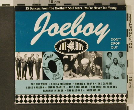 V.A.Northern Soul Years: You're Never Too Young, 25 Tr., Joe Boy Records(JBA-003), UK, 2000 - CD - 95220 - 20,00 Euro