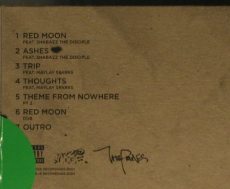 Prunes, The: Red Moon+6, Digi, FS-New, JazzFudge(JFR034cd), , 2003 - CD5inch - 95232 - 7,50 Euro