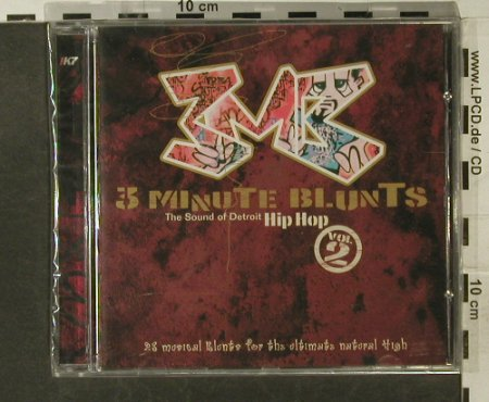 V.A.3 Minute Blunt Vol.2: 23 Tr., FS-New, !K7(066cd), EU,  - CD - 95240 - 7,50 Euro