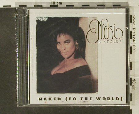Richards,Nicki: Naked(To The World), FS-New, Atlantic(), D, 1991 - CD - 95249 - 10,00 Euro
