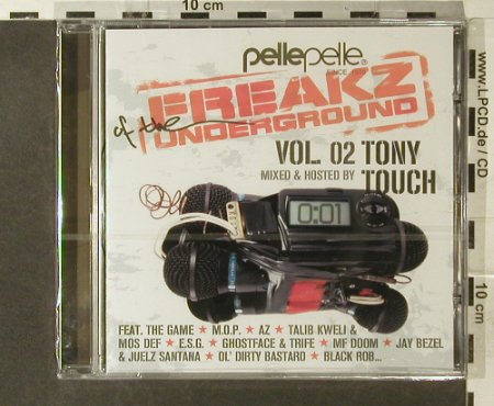 V.A.Freakz of the Underground 2: mixed&hosted by Tony Touch, FS-New, Sure Shot Recordings(005.9025.022), EU, 2006 - CD - 95442 - 7,50 Euro
