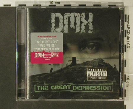 DMX: The Great Depression, Def Jam(586 450-2), EU, 2001 - CD - 95576 - 10,00 Euro