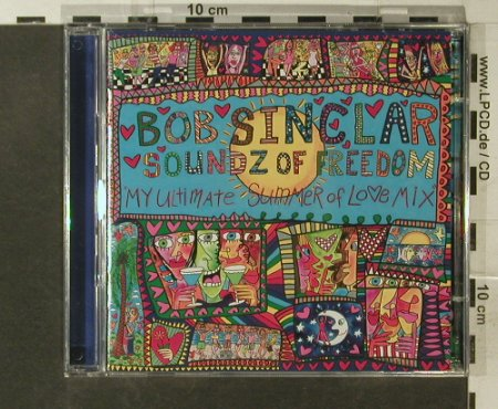 Sinclair,Bob: Soundz Of Freedom, Yellow Productions(), D, 2007 - CD/DVD - 95633 - 10,00 Euro