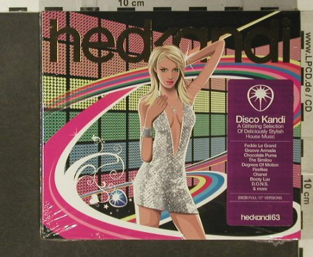 V.A.Disco Kandi 63: 24Tr, A Glittering Selection, Digi, hedKandi(HEDK063), UK,FS-New, 2006 - 2CD - 95645 - 10,00 Euro