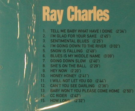 Charles,Ray: Same, FS-New, Time Music(TMI209), UK,  - CD - 95799 - 5,00 Euro