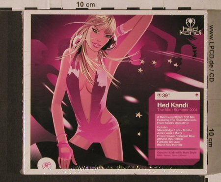 V.A.Hed Kandi-The Mix:Summer 2004: 40 Tr., Digi, FS-New, Hed Kandi(HEDK041), EU, 2004 - 3CD - 95823 - 11,50 Euro