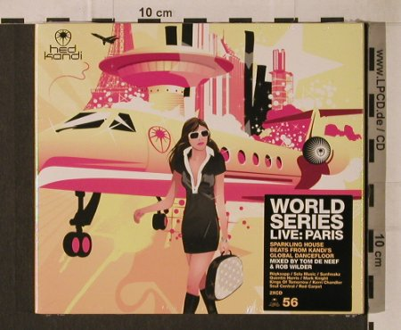 V.A.World Series-Live:Paris: 28 Tr., Digi, FS-New, Hed Kandi(HEDK056), EU, 2006 - 2CD - 95833 - 11,50 Euro