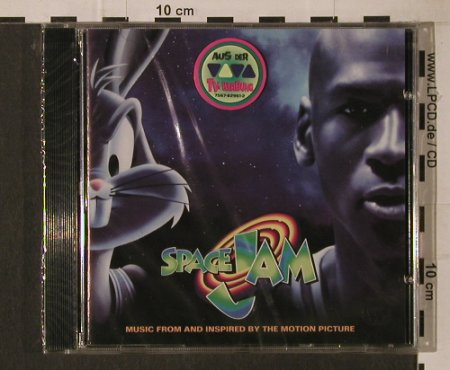 V.A.Space Jam: 14 Tr., FS-New, Atlantic(7567-82961-2), EU, 1996 - CD - 95842 - 10,00 Euro