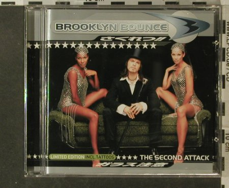 Brooklyn Bounce: The Second Attack, Tattoos, Edel(), D, 97 - CD - 95863 - 10,00 Euro