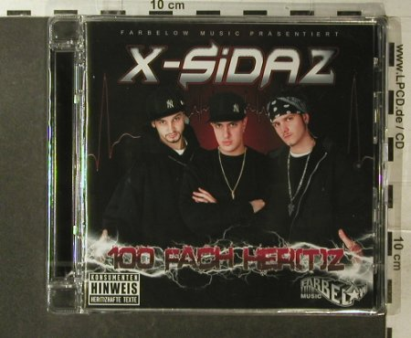 X-Sidaz: 100fach Her(t)z, FS-New, Farbelow Music(), , 2007 - CD - 96084 - 7,50 Euro