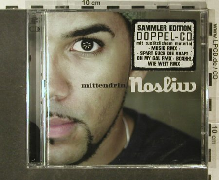 Nosliw: Mittendrin , sp.ed., Rootdown Records(RDM 13010-2), , 2007 - 2CD - 96264 - 12,50 Euro