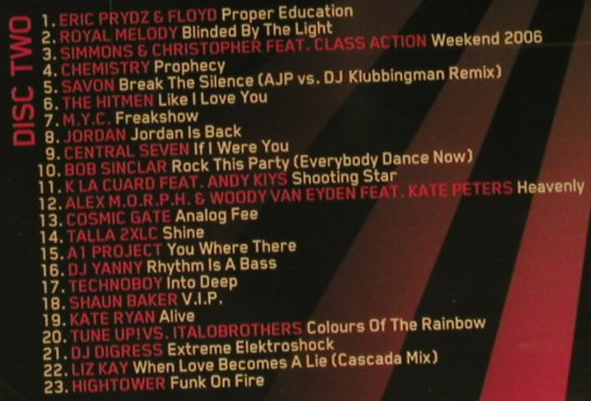 V.A.DJ Meeting 2007: 46 Hits auf 2CDs, Klubbstyle(), EU, 2007 - 2CD - 96293 - 11,50 Euro