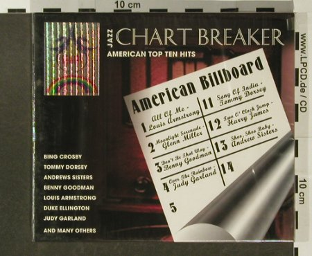 V.A.Jazz Chart Breaker: 47 Tr., Box, FS-New, TIM(220457), EU, 2001 - 2CD - 96617 - 5,00 Euro