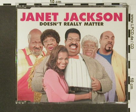Jackson,Janet: Doesn't Really Matter*2,Promo, Def Jam(), D, 00 - CD5inch - 96666 - 4,00 Euro