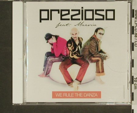 Prezioso feat. Marvin: We Rule Da Danza, Time SRL(), EU, 02 - CD - 96933 - 2,50 Euro
