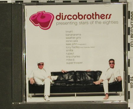 Discobrothers: Presenting Stars Of The Eighties, BMG(), , 2002 - CD - 96953 - 2,50 Euro