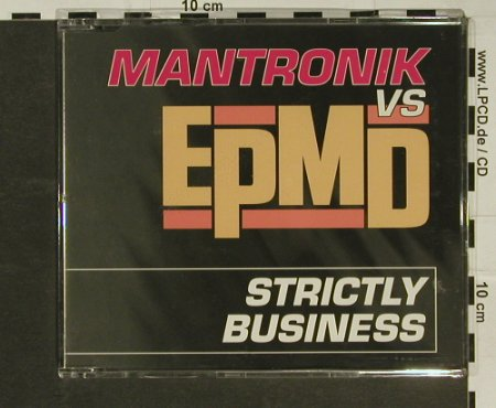 Mantronik vs EpMD: Strictly Business*4, Priority(), D, 1998 - CD5inch - 97052 - 2,50 Euro