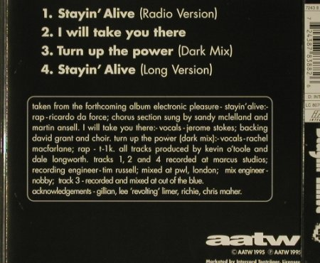 N-Trance: Stayin'Alive x 2+2, Blow Up(), NL, 95 - CD5inch - 97198 - 2,50 Euro
