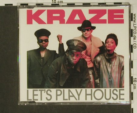 Kraze: Let's Play House*6, BCM(20270), D,  - CD5inch - 97293 - 2,50 Euro