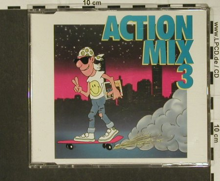 V.A.Action Mix 3: Skater's Action Mix, 4 Tr., BCM(20211), D,  - CD5inch - 97295 - 3,00 Euro