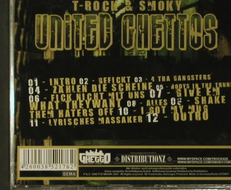 T-Rock/Smoky: United Ghettos, FS-New, Ghetto Musik(GT007), , 2007 - CD - 97688 - 10,00 Euro