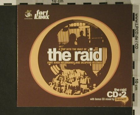V.A.The Raid: A Trip into the vault of, Digi, Jalapeno(JAL 32), UK, 2007 - 2CD - 97709 - 10,00 Euro