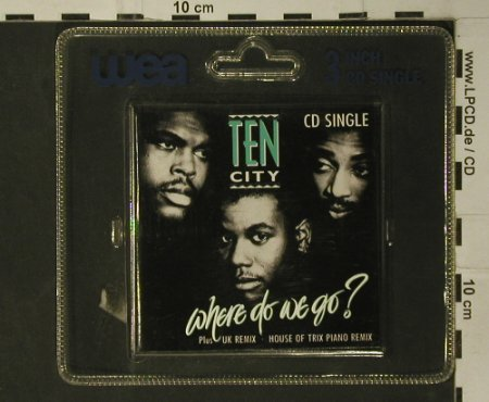 Ten City: Where do we go? *3, Atlantic(786 326-2), D, 1989 - CD3inch - 97967 - 5,00 Euro