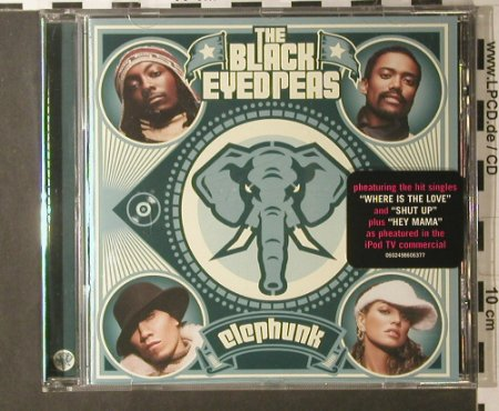 Black Eyed Peas: Elephunk, Interscope(), EU, 2003 - CD - 98013 - 7,50 Euro