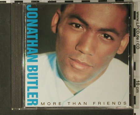 Butler,Jonathan: More Than Friends, Jive(244 209-2), D, 88 - CD - 98014 - 7,50 Euro