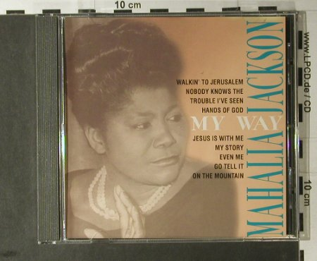 Jackson,Mahalia: My Story, Back Bite(), D, 1994 - CD - 98158 - 5,00 Euro