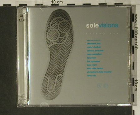 V.A.Solevisions: Vol. One, 15 Tr., Sole Music(), ,  - 2CD - 98526 - 10,00 Euro
